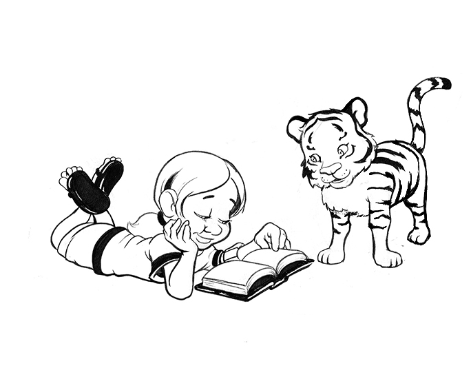 Kids who read are cultivating curiosity!