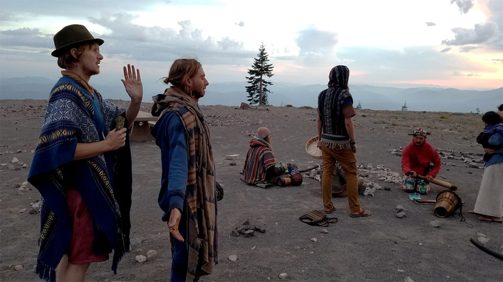 Free Radical Gathering on Mt Shasta