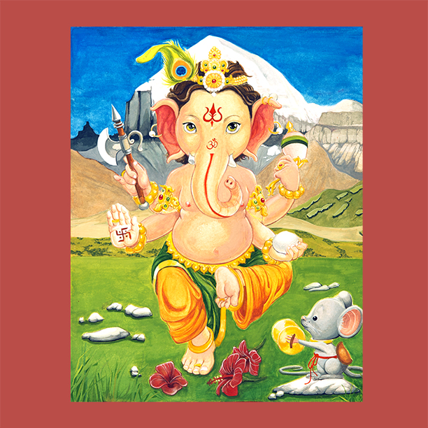 Hindu-Elephant-God-Ganesh