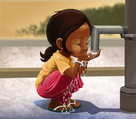 Global Water Crisis–World Water Day Illustrations